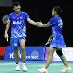 Swiss Open 2021: Rinov/Pitha Kandas, Ganda Campuran Indonesia Habis