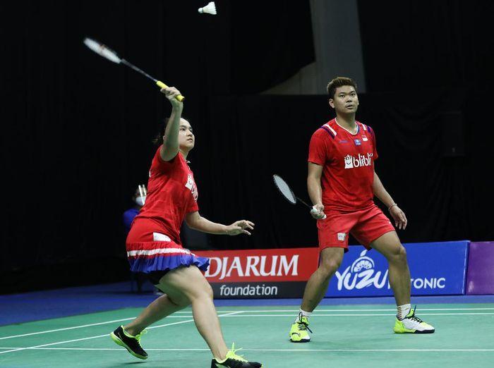 Praveen Jordan/Melati Daeva Oktavianti ke perempatfinal PBSI Home Tournament. (dok.PBSI)