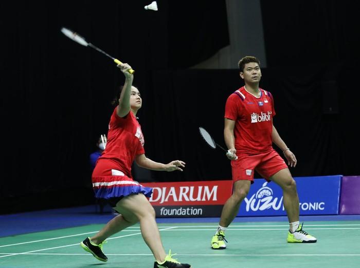Praveen Jordan/Melati Daeva Oktavianti di PBSI Home Tournament