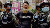 Polisi Hong Kong Tangkap 180 Orang