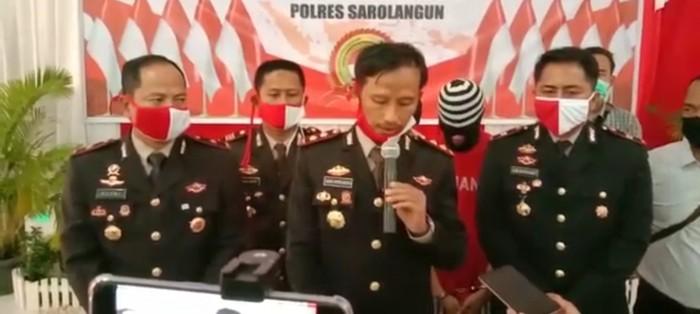 Polisi tangkap pelaku pemerkosaan-pembunuhan di Jambi (dok. Istimewa)