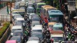 Potret Kemacetan di Pasar Senen Dampak Penutupan Underpass