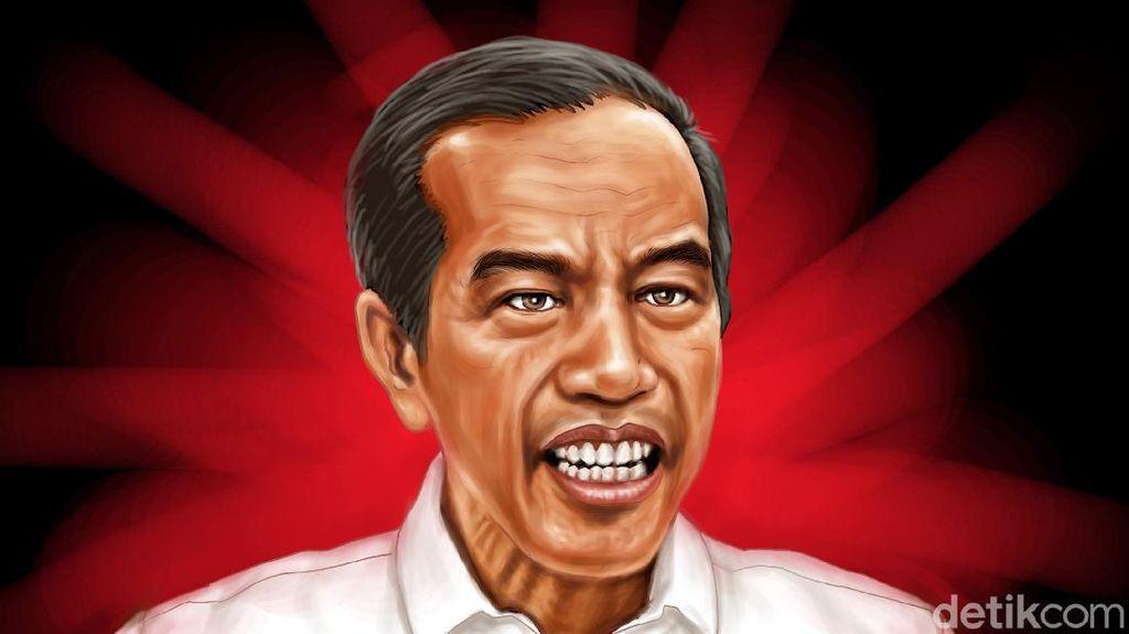 Gertakan Reshuffle Jokowi