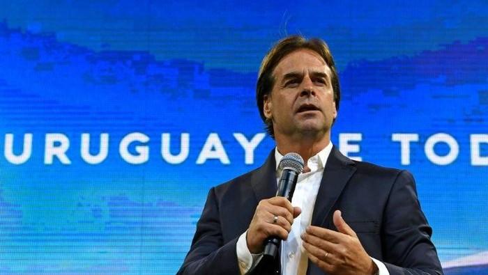 Presiden Uruguay Luis Lacalle Pou (AFP Photo)