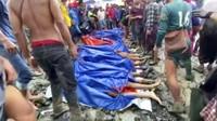 Bertambah, Korban Tewas Akibat Longsor di Tambang Batu Myanmar Jadi 160