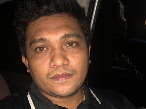 Robi Aprianto (32), buron kasus penusukan Serda  RH Saputra, anggota Babinsa TNI AD Jakarta Barat di Hotel Mercure Batavia (dok. Istimewa).