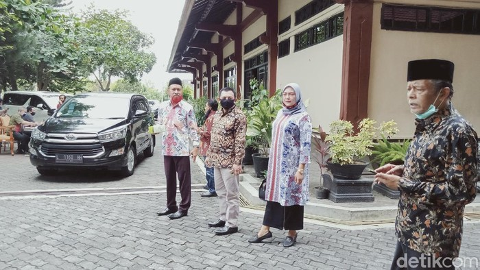 Rombongan DPRD Jatim-Jateng yang kunker ke Klaten