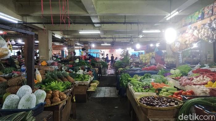 Suasana di Pasar Minggu