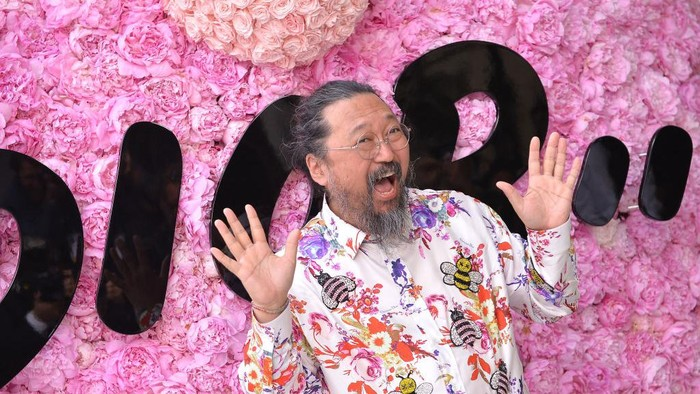 PARIS, FRANCE - JUNE 23:  Takashi Murakami attends the Dior Homme Menswear Spring/Summer 2019 show as part of Paris Fashion Week on June 23, 2018 in Paris, France.  (Photo by Francois Durand/Getty Images for Dior)
