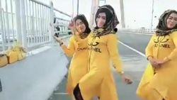 Video Tiga Emak-emak TikTok-an di Jembatan Suramadu
