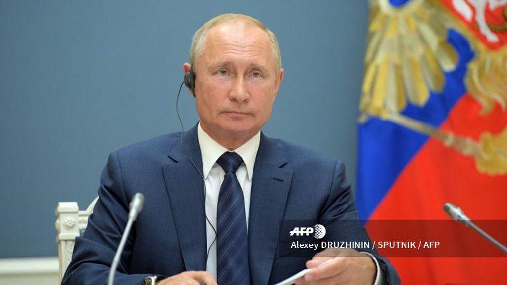 Pemilih Rusia Dukung Referendum Jadikan Putin Presiden hingga 2036