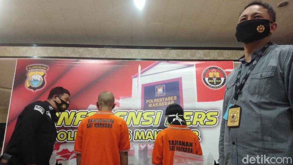 Jual Sabu Pemberian Paman, Montir di Makassar Ditangkap Bareng Istri