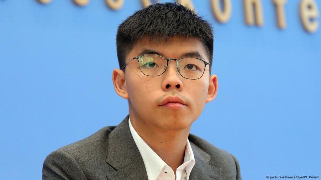 Aktivis Joshua Wong Kini Akui Salah Selepas Kabur dari Hong Kong