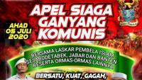 Gelar Apel Ganyang Komunis, PA 212 dkk Janji Akan Jaga Ketertiban
