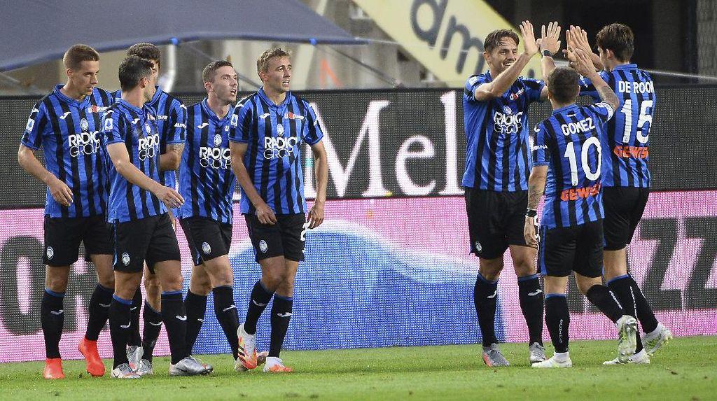 Atalanta Vs Napoli: La Dea Tumbangkan Partenopei 2-0