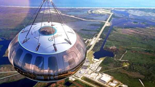 Dengan baloon udara ini Anda diajak ke tepi ruang angkasa, rencana penerbangan pertamanya pada tahun 2021.Peluncurannya dari Fasilitas Pendaratan Pesawat Ulang-alik di Kennedy Space Center NASA di Florida.