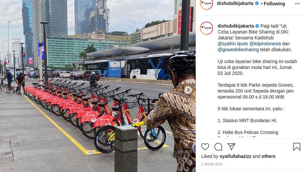 Hore, Jakarta Udah Punya Bike Sharing Juga
