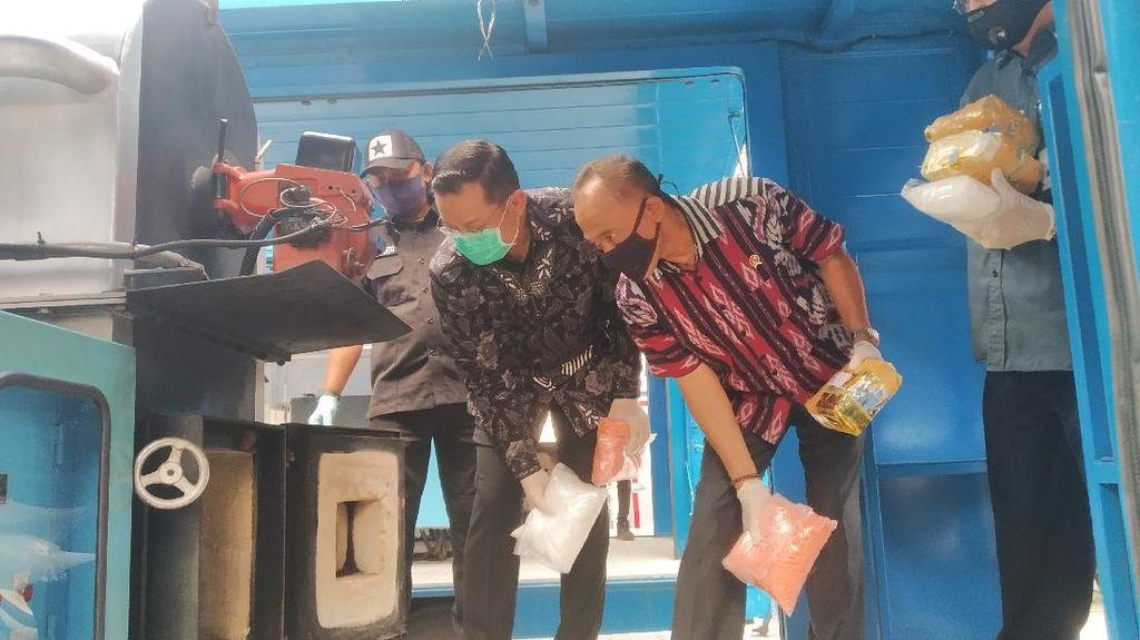 BNN Musnahkan 86 Kg Sabu Hasil Tangkapan Selama Pandemi Corona
