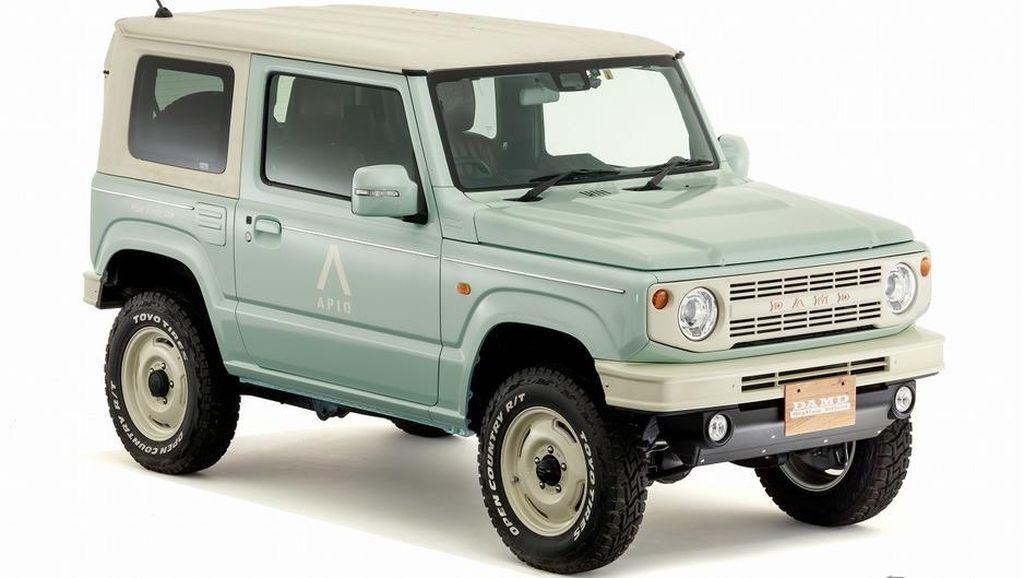 Jauh dari Kesan Garang, Ini Potret Body Kit Baru Suzuki Jimny