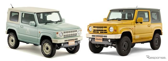 Body kit Suzuki Jimny buatan DAMD