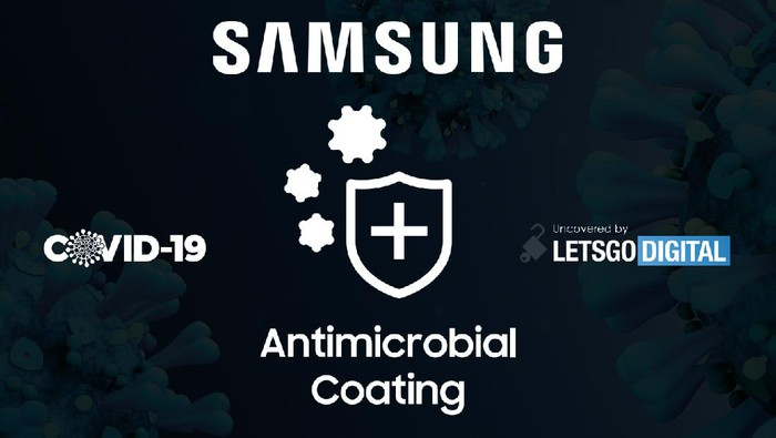 Casing antimikrobial Samsung