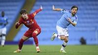 City Vs Liverpool: Bernardo Silva Tolak Tepuk Tangan di Guard of Honour