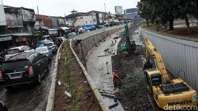 Demi Urai Kemacetan, Proyek Underpass Senen Dikebut