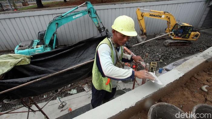 Proyek Underpass Senen, Jakarta Pusat, terus dikebut pengerjaannya. Proyek ini ditargetkan selesai pada Desember 2020.