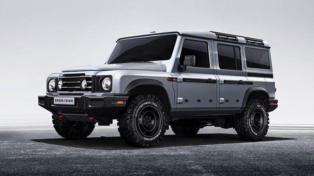 Tak Dilirik Pabrikan, Crazy Rich Inggris Produksi Mobil SUV Grenadier