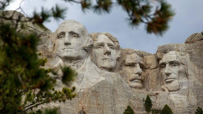 Gunung Rushmore (AFP Photo)