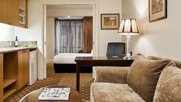 Hotel di Melbourne.