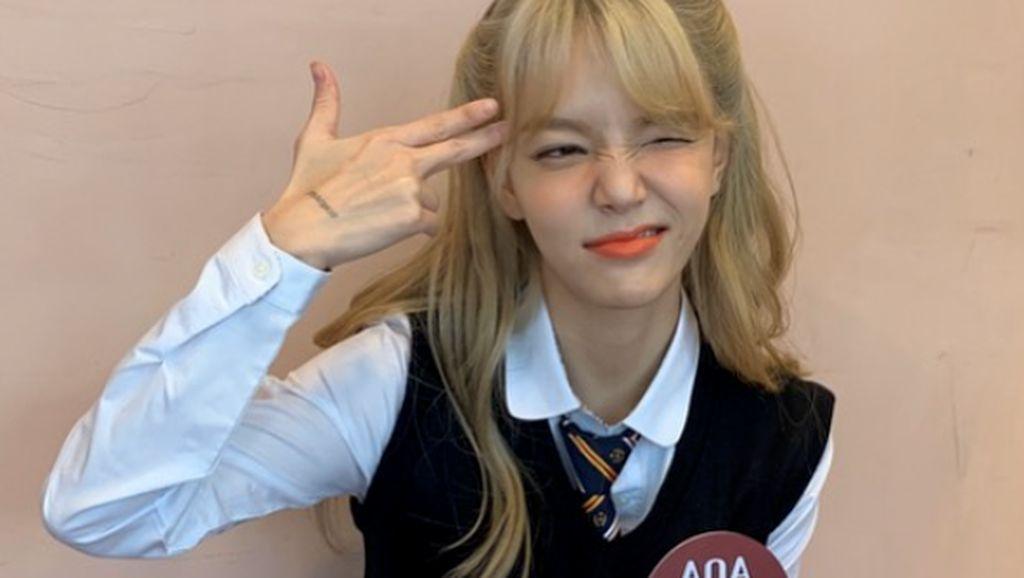 Heboh Jimin AOA dan Kwon Mina dalam Pusara Bullying