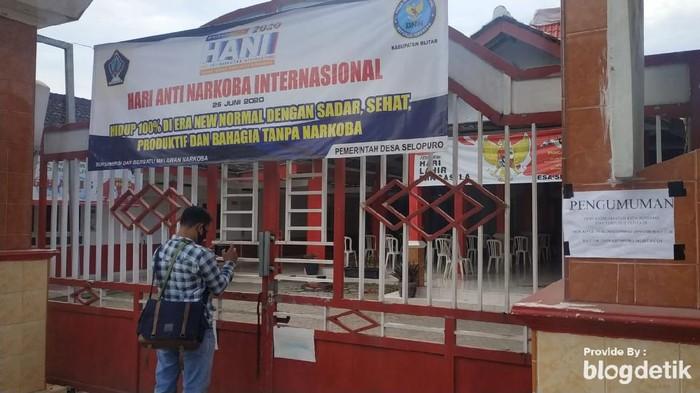 Kades Positif Corona, Kantor Desa di Blitar Ini Ditutup Sepekan