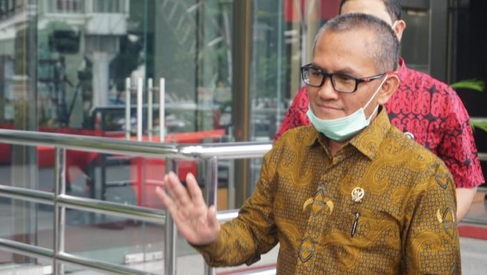 Ketua Komisi Yudisial Jaja Ahmad Jayus Sambang KPK