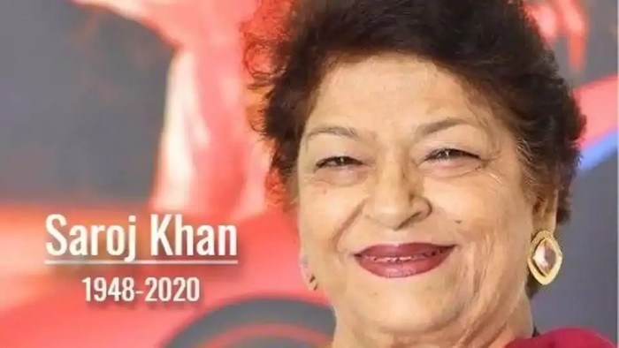 Koreografer Bollywood Saroj Khan