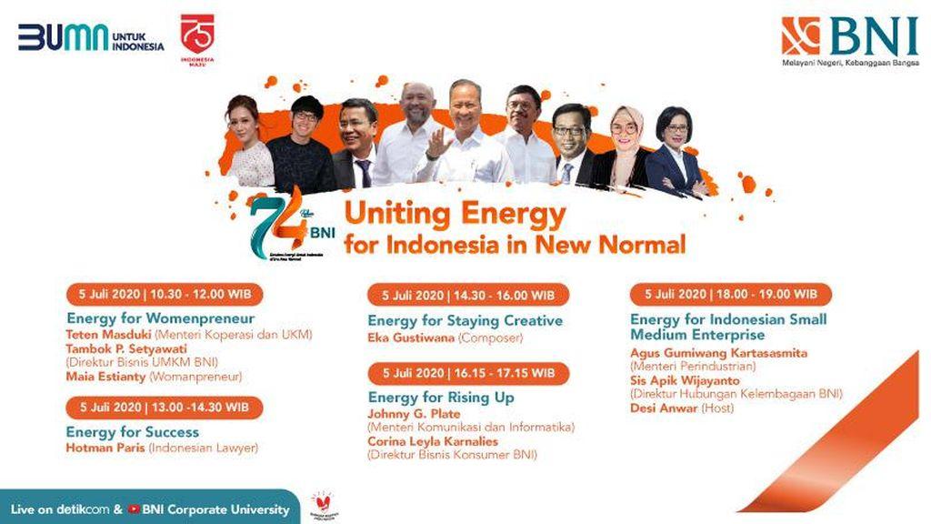 Satukan Energi untuk Indonesia di Era New Normal