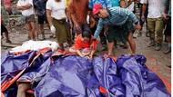 Tewaskan 160 Orang, Longsor di Tambang Giok Myanmar Seperti Tsunami