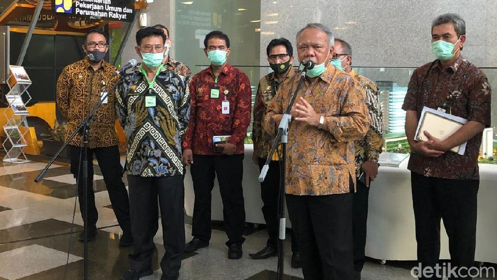 Mentan Sambangi Kantor Menteri PUPR, Bahas Food Estate di Kalteng