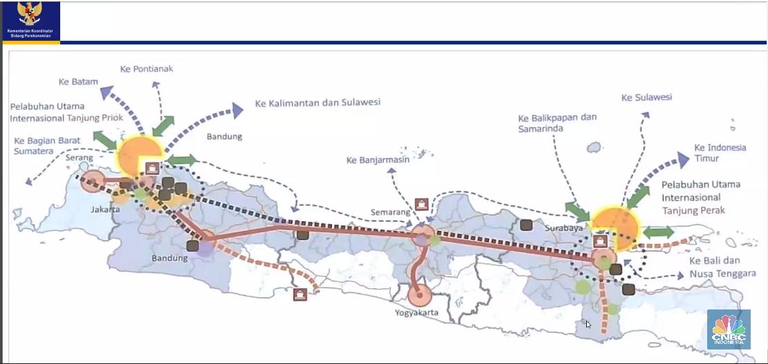 Perencanaan North Java Super Corridor