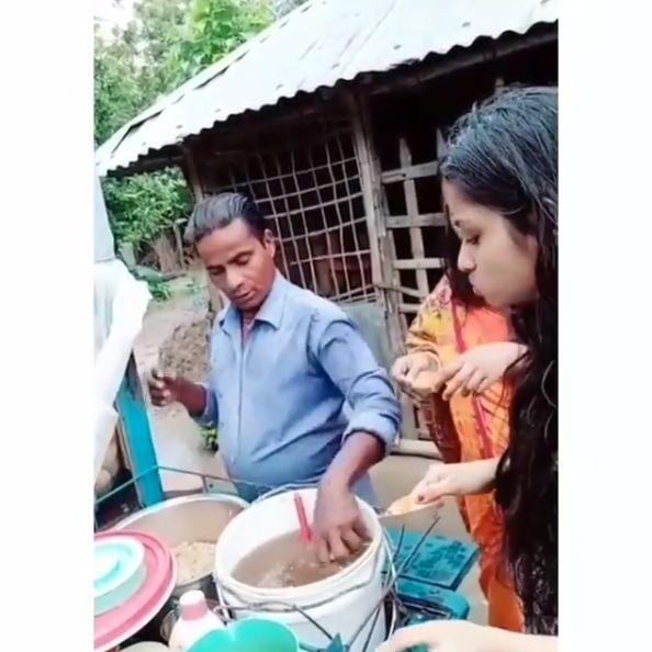 Penjual makanan jorok yang viral di media sosial