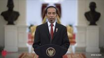 Lantik Perwira TNI-Polri di Istana Negara, Jokowi: Upacara Tahun Ini Berbeda