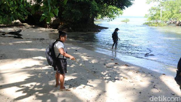 Pulau Kapotar di Nabire
