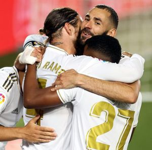 Madrid Vs Getafe: Penalti Ramos Menangkan Los Blancos 1-0