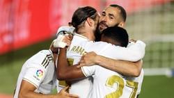Mimpi Real Madrid Kunci Titel LaLiga di Kandang