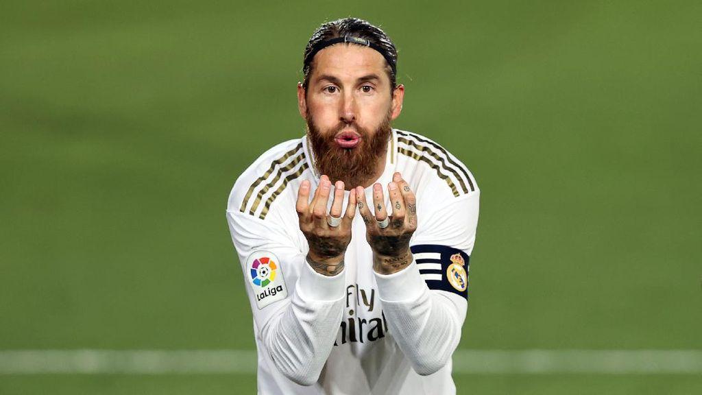 Rahasia Tendangan Penalti Sergio Ramos yang Selalu Gol