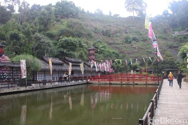 Kemudian di Jepang, wisatawan akan merasakan sensasi berada di Kyoto. (Foto: Putu Intan/detikcom)