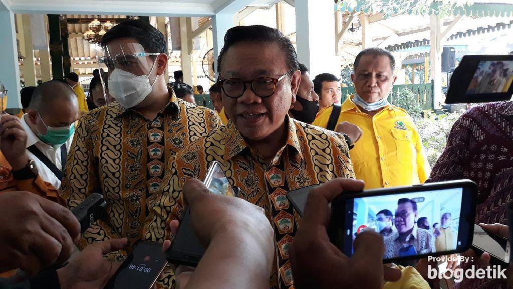 Agung Laksono Soal Isu Reshuffle: Akan Picu Kabinet Kerja Lebih Keras