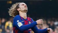 Griezmann Cedera Otot, Barcelona Makin Sulit Kejar Madrid
