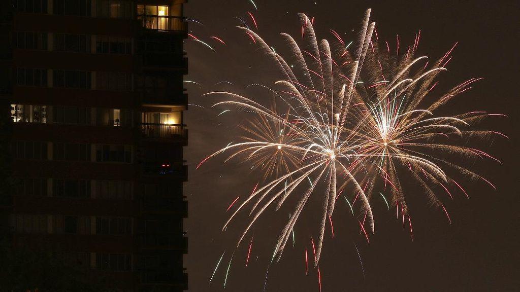Euforia Kemerdekaan AS di Tengah Lonjakan Corona