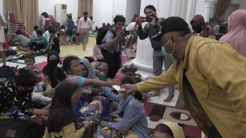 Rumah Terendam Banjir, Warga Bantaran Sungai Bone Gorontalo Diimbau Mengungsi
